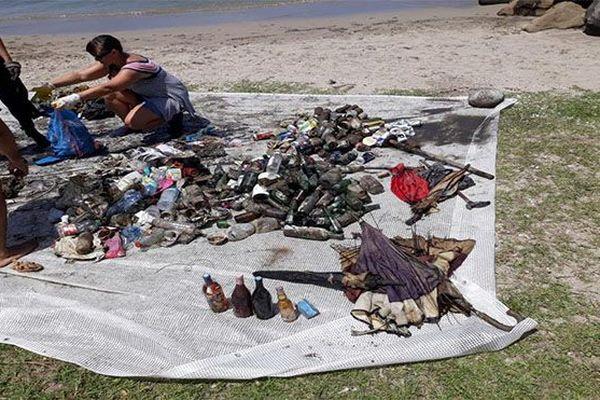 Nettoyage plage de la Française