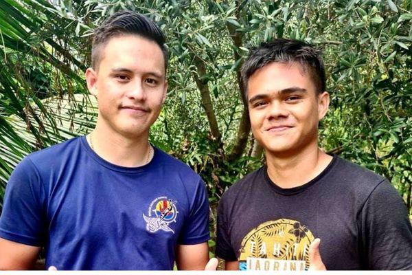 Deux frères polynésiens lauréats du concours gendarme (SOG) 2021 !