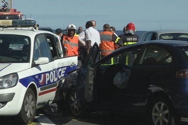 Accident route du littoral