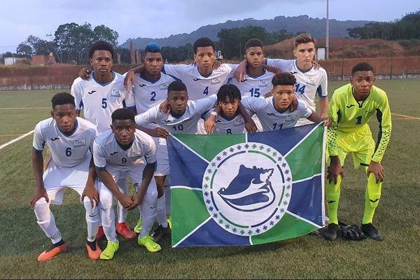La sélection U15 de la Martinique 29 12 2019 Tournoi Claude Elise