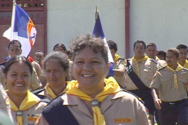 642 scouts adventistes en jamboree à Raiatea