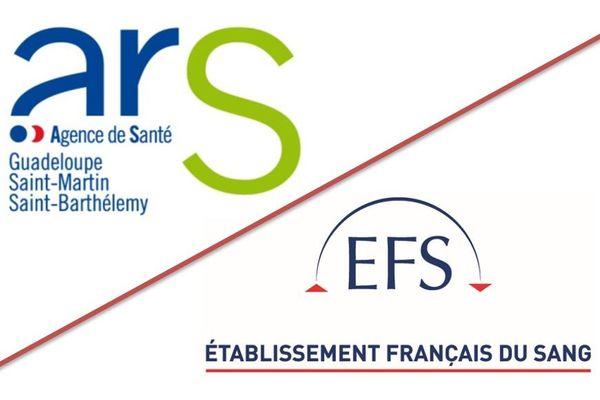 Logos ARS et EFS