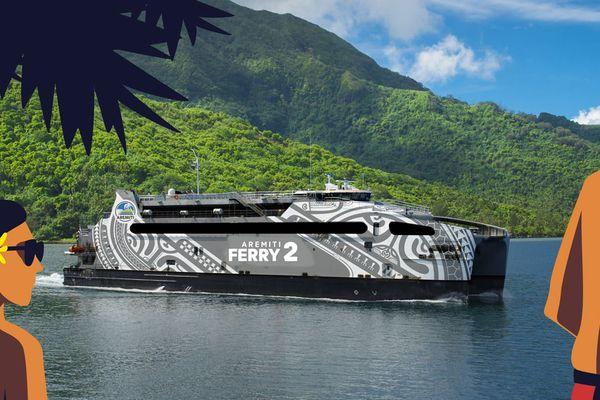 Relooking de l'aremiti ferry 2