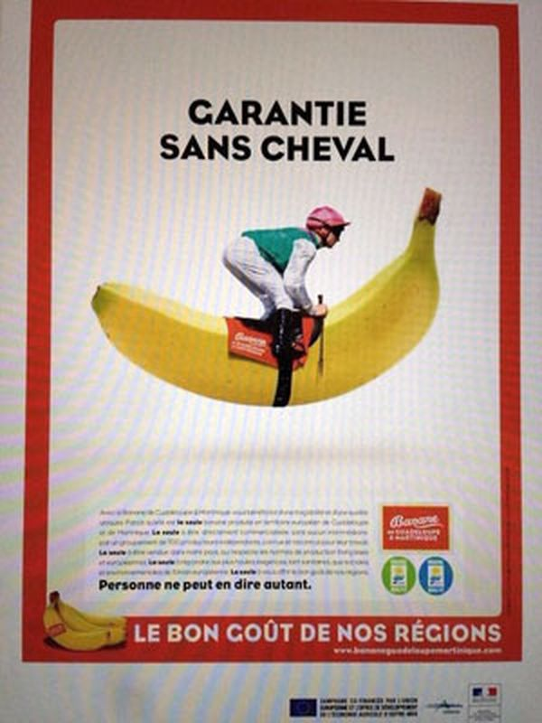 Affiche banane