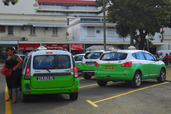 Taxis à Nouméa