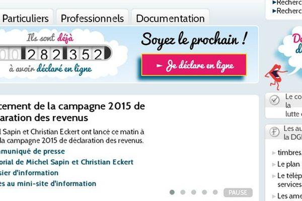 déclaration 2015 revenus