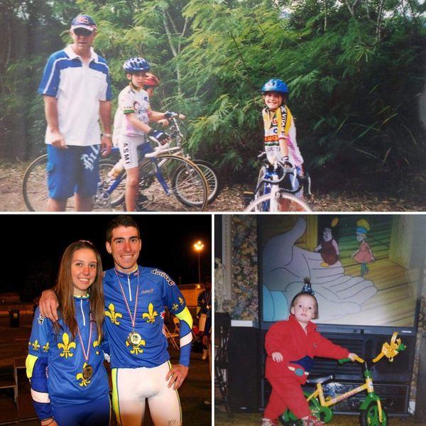 Le vélo, une affaire de famille pour Océane