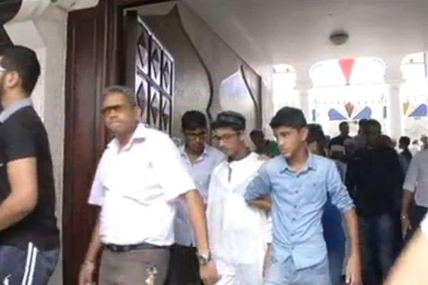 musulmans La Réunion sortie mosquée Saint-Denis