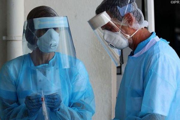 Des tests de dépistages du coronavirus effectués à La Réunion.