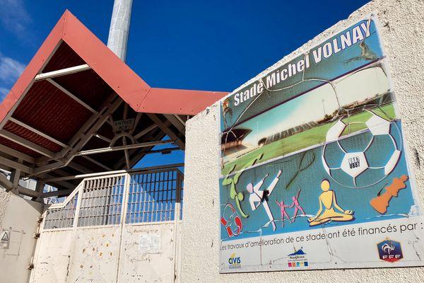 Entrée stade Michel Volnay St Pierre