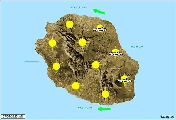 Carte météo 7 février 2020