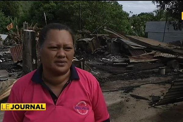 Incendie volontaire à Moorea : 19 victimes privées de toit