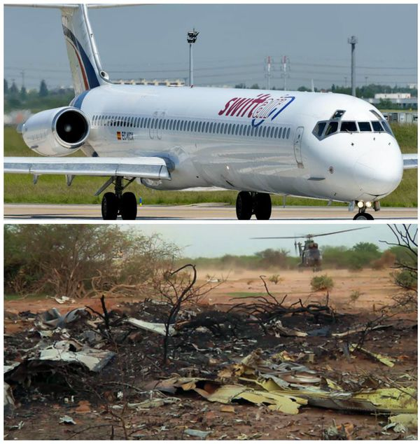 crash Air Algerie avant apres
