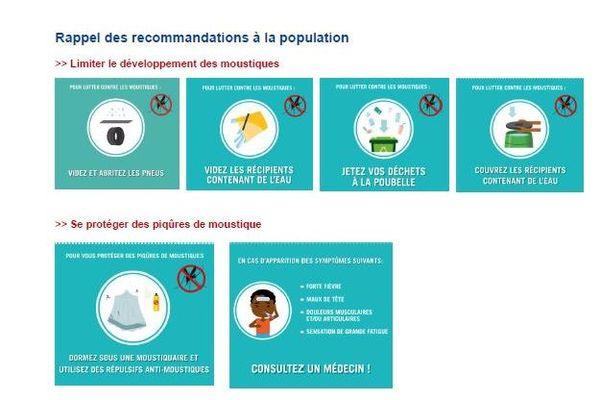 dengue recommandation