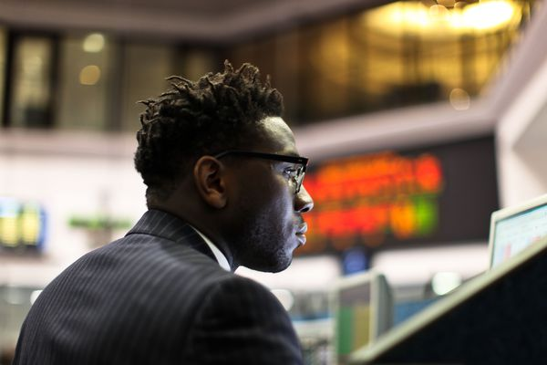 Trader du Nickel London Metal Exchange