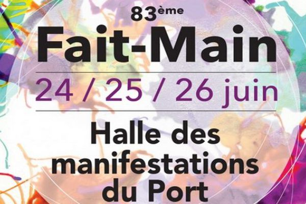83ème salon Fait-main à la halle des manifestations du Port