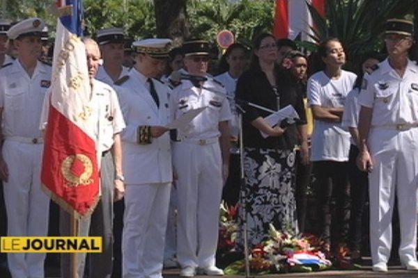 La Polynésie commémore l'armistice du 11 novembre 1918