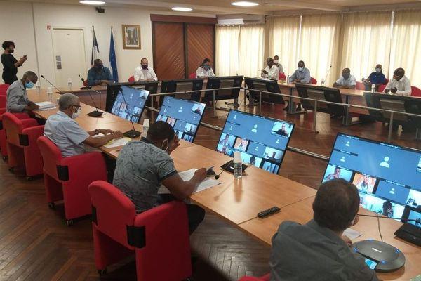 association des maires réunie ce 29 avril
