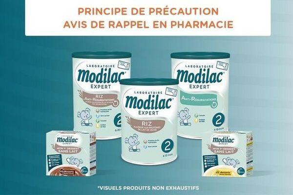 modilac / Salmonelle