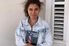 """Laura Luce auteur de l'ouvrage """"le journal de Laura""""."""