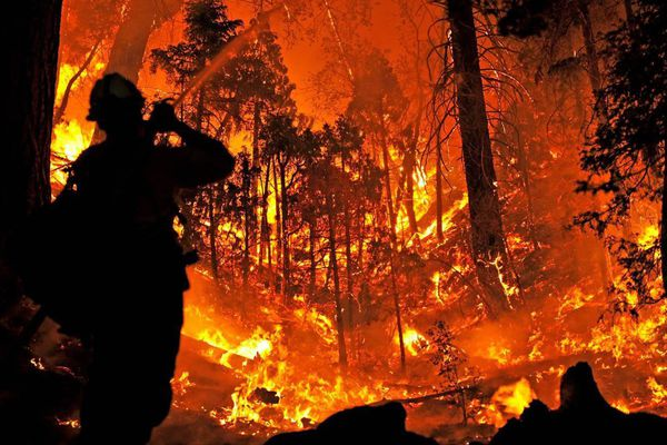 Un incendie ravage le nord de la Californie