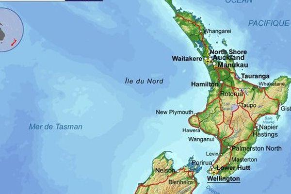 séisme nord NZ