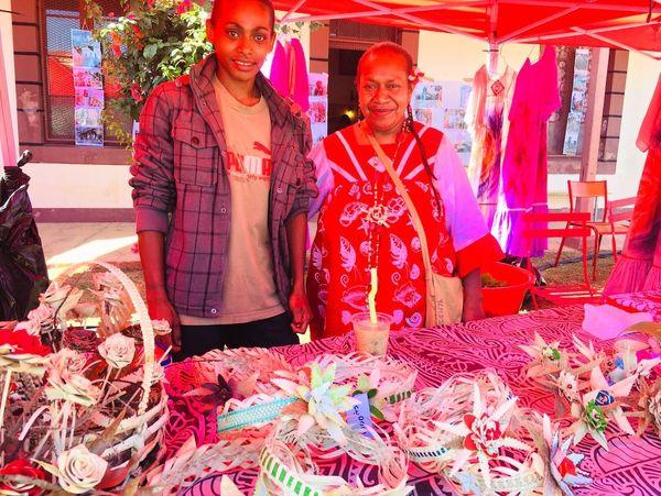 Journée du patrimoine à Saint-Louis 2018: marché sur l'esplanade de l amission