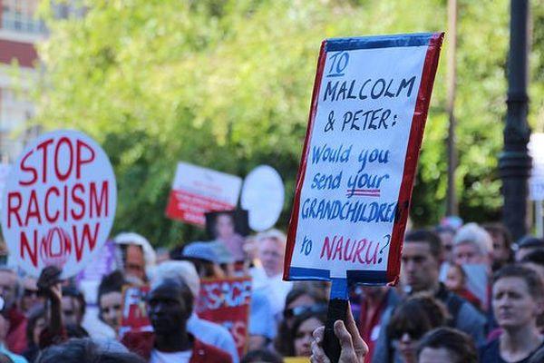 Australie Manif pour réfugiés