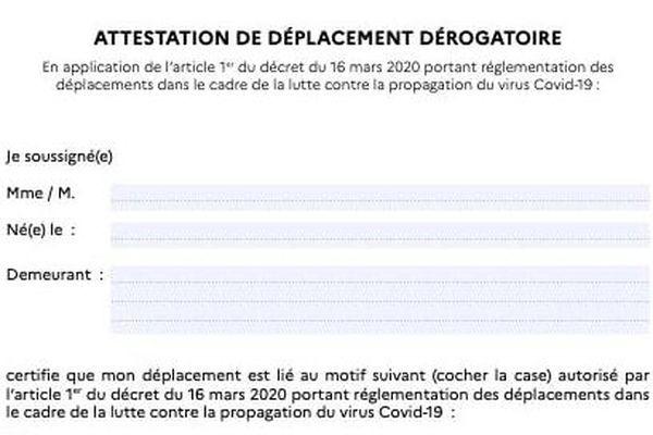 Une Attestation Indispensable Pour Justifier Une Sortie Guadeloupe La 1er