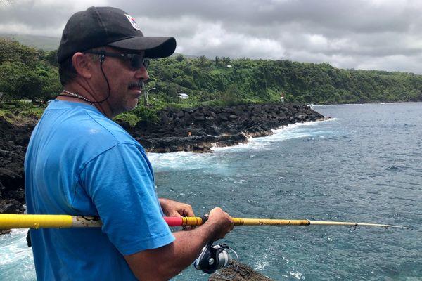 Les pêcheurs du dimanche sont de sortis à la marine Sainte-Rose
