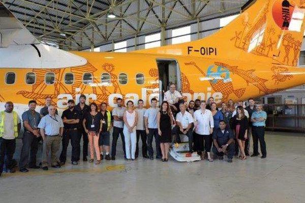 """ATR 42 : personnel """"au revoir"""""""
