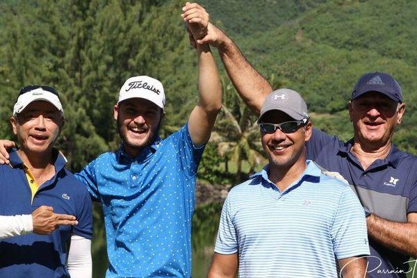 Blake Proverbs vainqueur du pro am et en tête du classement provisoire après deux tours