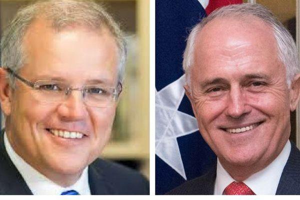 Australie 1er ministre. Morrison / Turnbull