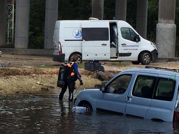 Voiture retrouvée dans la rivière salée - 03/03/2021