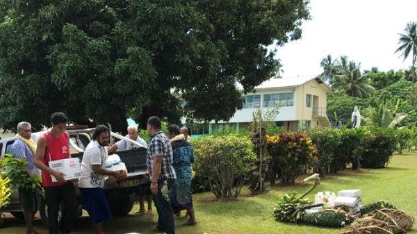 Dons pour les religieux en retraite spirituelle à Sofala
