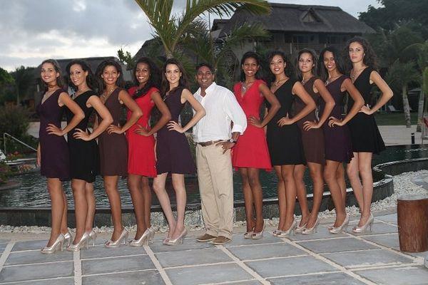 Photos du séjour des candidates à l'île Maurice