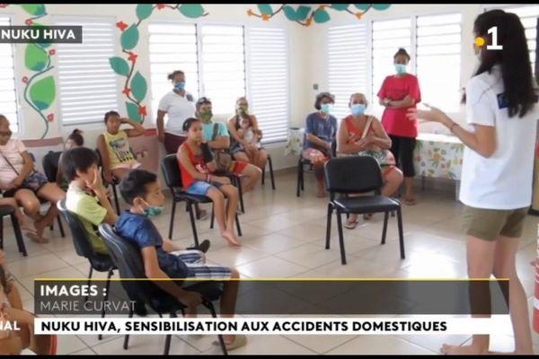 Prévention des accidents domestiques à Nuku Hiva