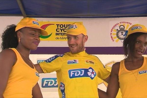 Jocelyn Lemperriere maillot jaune du tour
