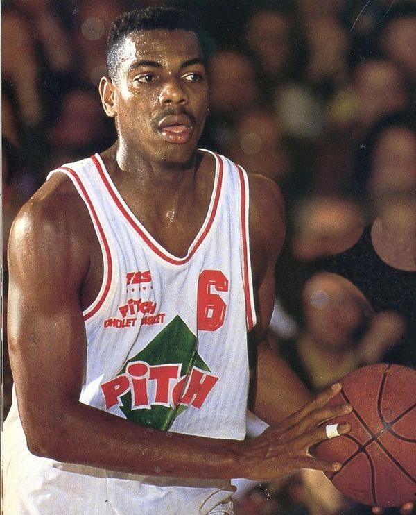 Le basketteur guadeloupéen Jim Bilba.