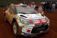 "Eric Riandet et sa ""world rallye car"""