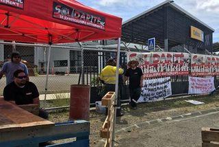 Grève Caltrac