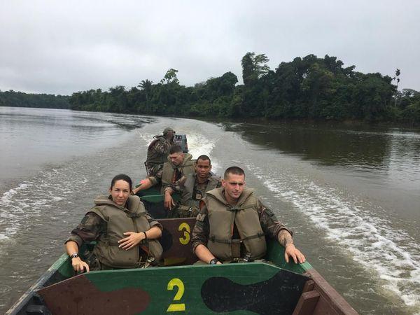 Les forces Armées de Guyane engagées dans le dispositif Harpie