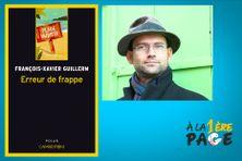 """François-Xavier Guillerm présente son premier polar """"Erreur de frappe"""" dans l'émission À la 1ère page"""