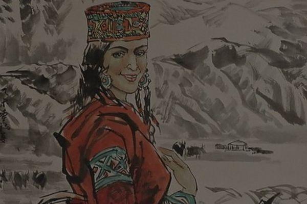 Femme Ouïghour