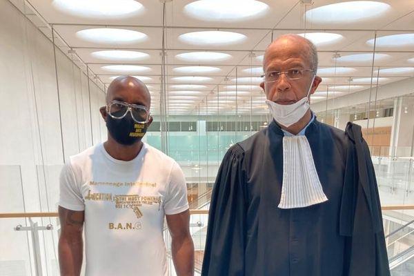 Franco Lollia et son avocat juin 2021