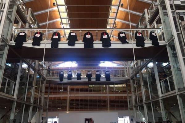 Robes avocats suspendues 17 janvier 2020