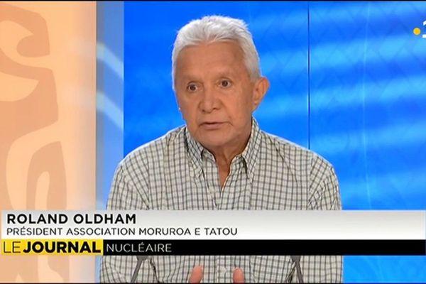 Invité du journal : Roland Oldham, Président de l'Association Moruroa e tatou