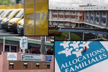Poste, CGSS, impôts et CAF, parmi les grands services publics de Martinique