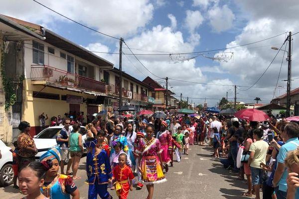 St. Laurent-du-Maroni : fête le nouvel an chinois en grande pompe