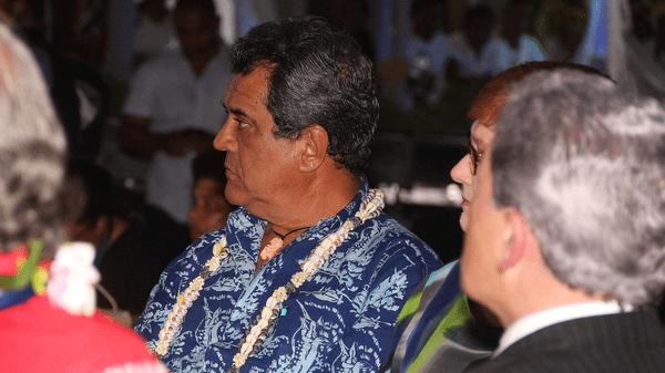 Edouard Fritch au Forum des Iles du Pacifique